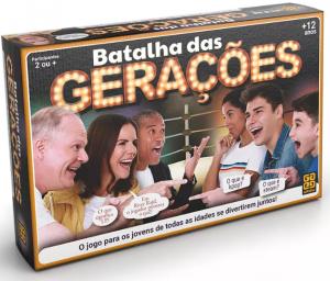 Caixa do jogo Batalha de Gerações